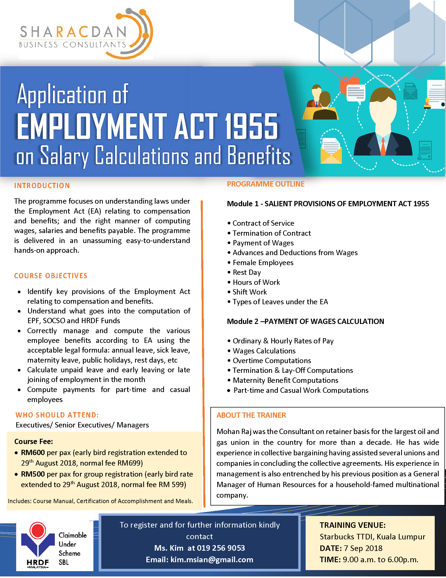 Employment Act 1955 Salary Calculations And Benefits Marm